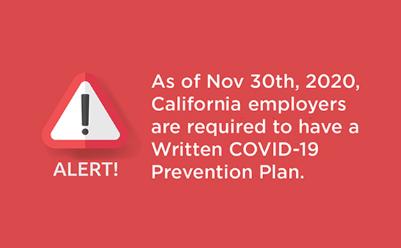 Free Written COVID-19 Prevention Plan